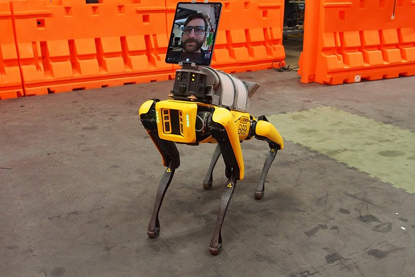 boston dynamics spot robot dog helps doctors treat COVID-19 patients